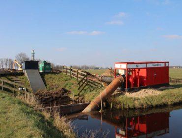 temporary pump installation van heck
